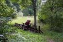 Tiltelis per Zalves upe prie Marimonto maluno liekanu